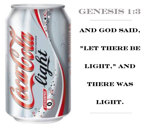 Genesis 1:3 - Let there be light